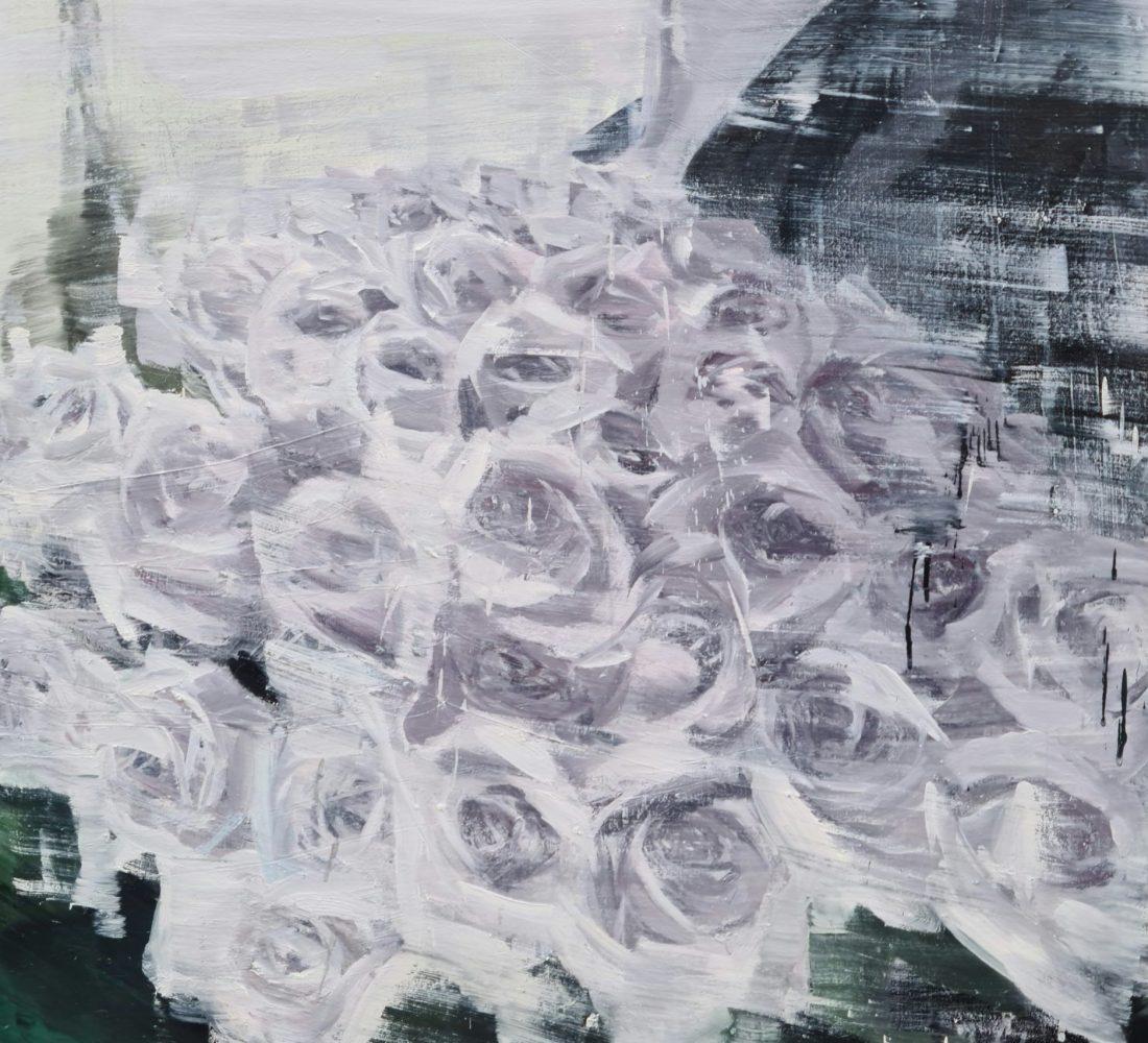 """""""Rose de Paris"""" 130x97cm - série """"Élégance"""""""